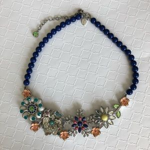 LIA SOPHIA Retired Full Bloom Statement Necklace